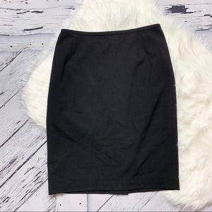 Calvin Klein Classic Black Pencil Skirt.